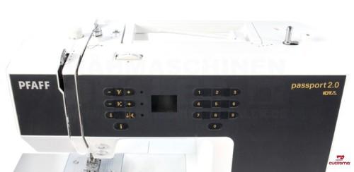 pfaff passport 2 0 cuciroma macchine da cucire e accessori per il ricamo. Black Bedroom Furniture Sets. Home Design Ideas