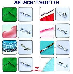 Kit di 8 piedini per Tagliacuci Juki