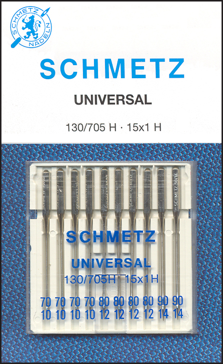 Aghi Schmetz 130/705H 10 aghi assortiti