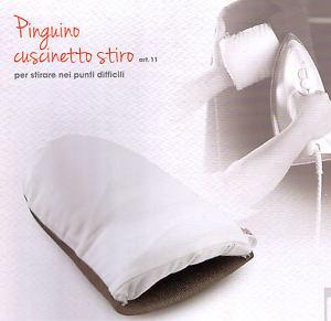 cuscino da stiro pinguino marbet | cuciroma | macchine da cucire e