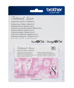 Scheda Tattered Lace per ScaNcut Art. CATTLP08