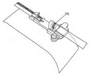 Piedino Pfaff per applicare elastici cod.620116796
